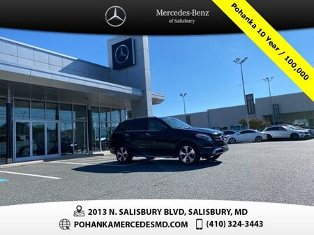 2017_Mercedes-Benz_GLE_GLE 350 4MATIC®** Pohanka 10 Year / 100,000  **_ Salisbury MD