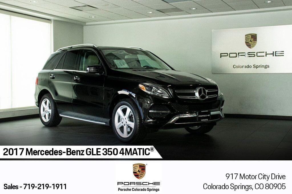 2017 Mercedes-Benz GLE GLE 350 Colorado Springs CO