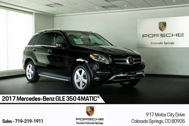 2017 Mercedes-Benz GLE GLE 350 Colorado Springs CO