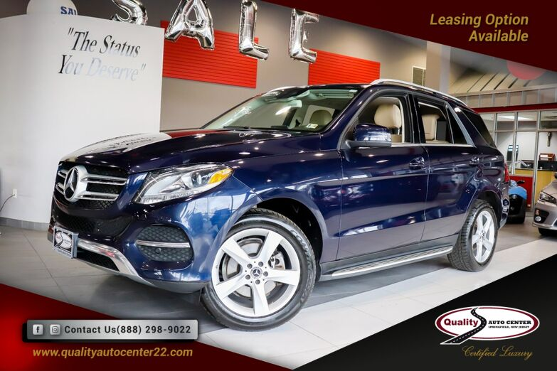 2017 Mercedes-Benz GLE GLE 350 Premium 1 Pkg, Lane Keep, Blind Spot, Navigation Springfield NJ