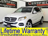 Mercedes-Benz GLE350 BLIND SPOT MONITOR LANE KEEP ASSIST ATTENTION ASSIST NAVIGATION CONVENIENCE 2017