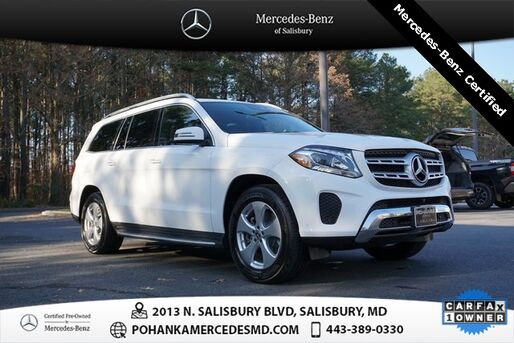 2017_Mercedes-Benz_GLS_GLS 450 4MATIC® AWD ** Mercedes - Benz Certified **_ Salisbury MD