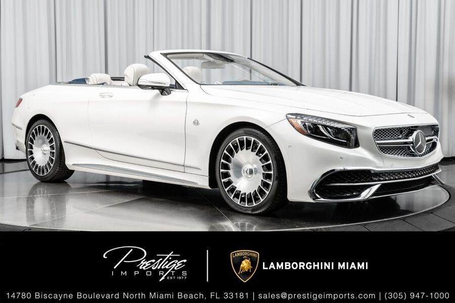 2017_Mercedes-Benz_No Model_Maybach S650 Cabriolet_ North Miami FL