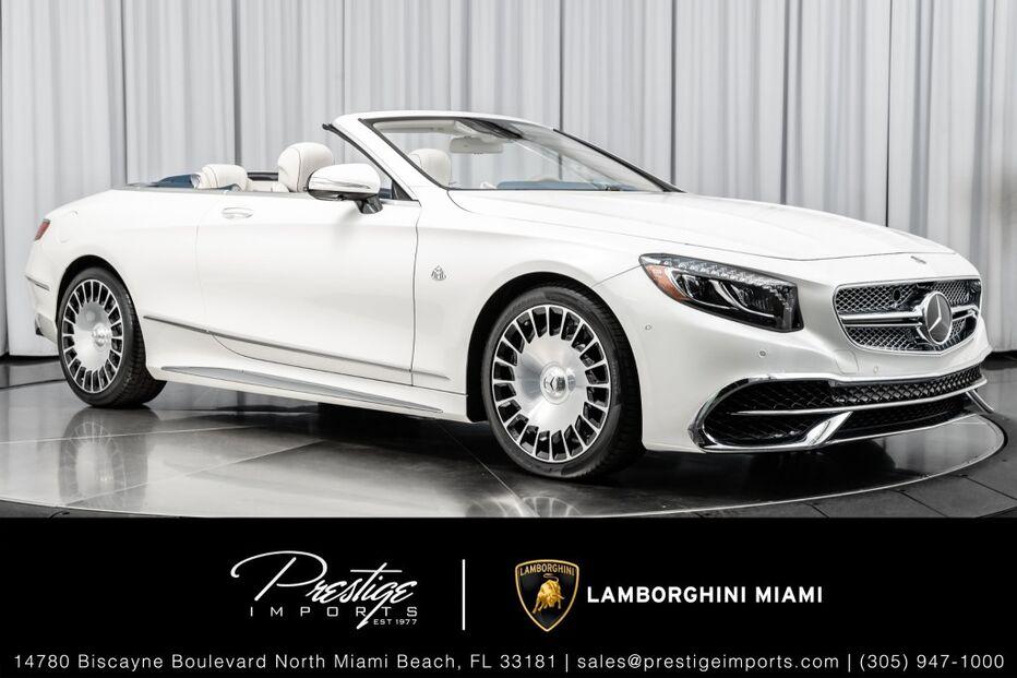 2017_Mercedes-Benz_No Model_Maybach S650 Cabriolet_ North Miami Beach FL