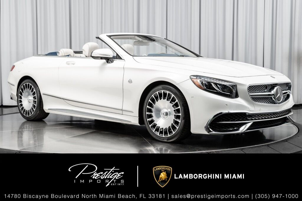 2017_Mercedes-Benz_No Model_Maybach S650 Cabriolet_ North Miami Beach FL