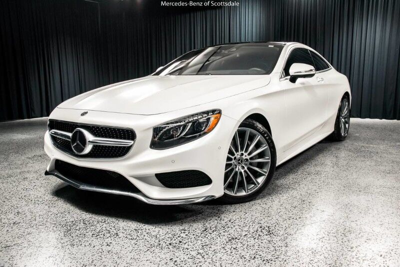 2017 mercedes benz s 550 4matic coupe scottsdale az 19725960 for North scottsdale mercedes benz