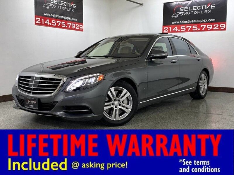 2017 Mercedes-Benz S 550 AWD, NAV, LEATHER SEATS, MASSAGE FRONT SEATS