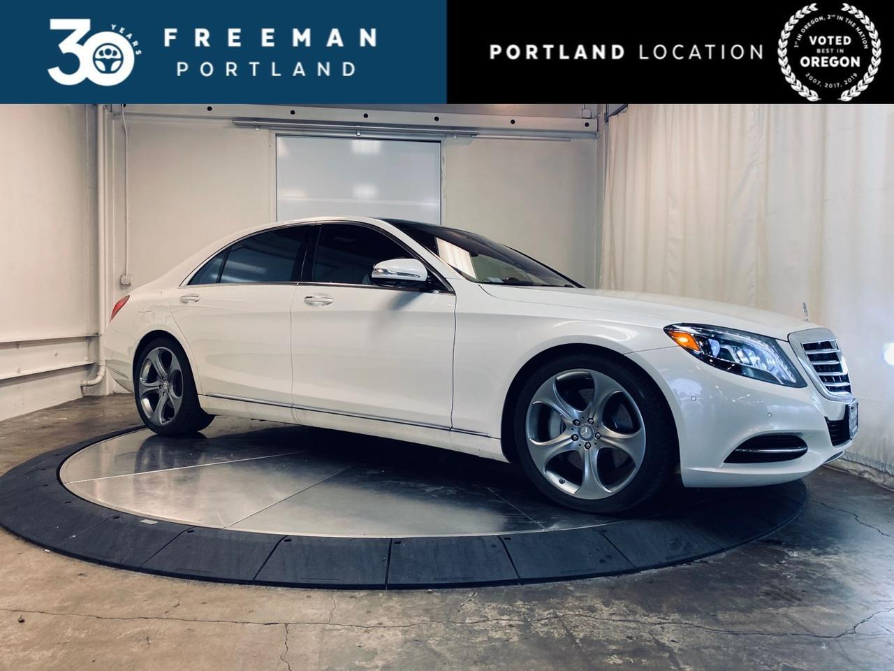 2017 Mercedes-Benz S 550 DISTRONIC+ 360 Camera Ventilated Seats Pano 17k Miles Portland OR
