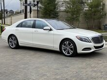2017_Mercedes-Benz_S_550_ Houston TX