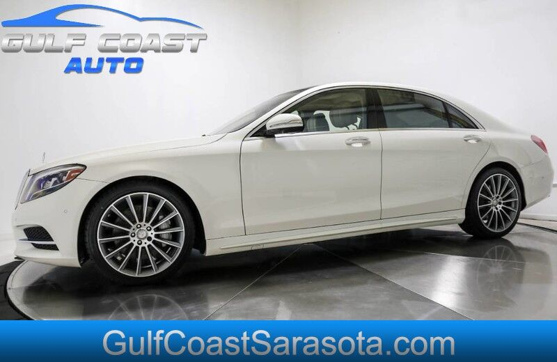 2017 Mercedes-Benz S-CLASS S 550 WARRANTY NEW TIRES SERVICED CLEAN LOADED Sarasota FL