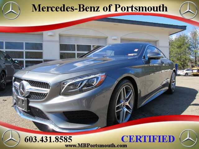 2017 Mercedes Benz S Class 550 4matic Coupe