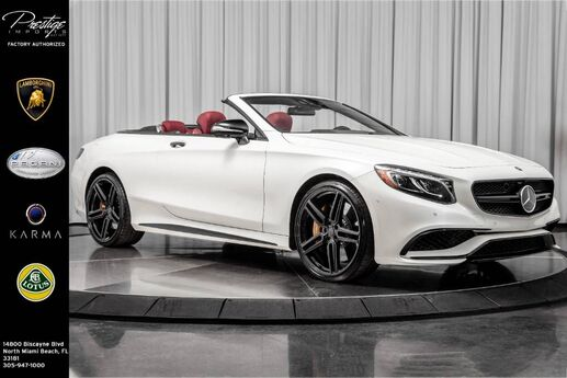 2017 Mercedes-Benz S-Class AMG S 63 North Miami Beach FL