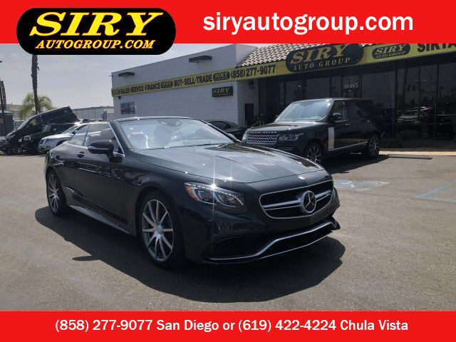 2017 Mercedes-Benz S-Class AMG S 63 San Diego CA