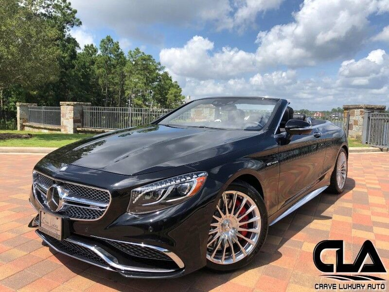 2017 Mercedes-Benz S-Class AMG S 65 Convertible The Woodlands TX