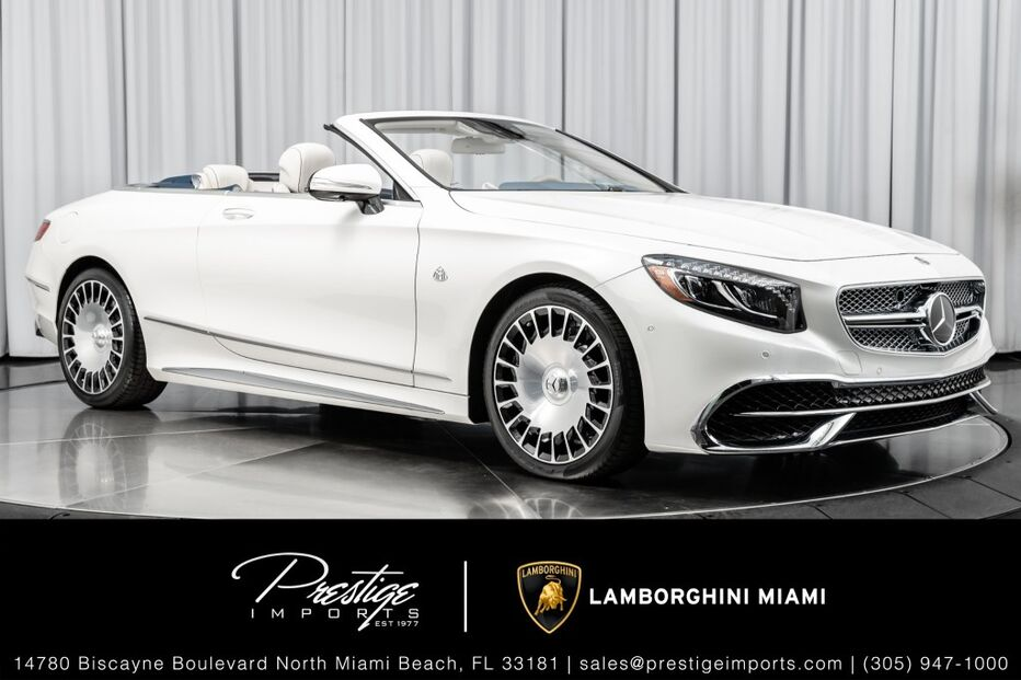 2017_Mercedes-Benz_S-Class_AMG S 65 Maybach_ North Miami Beach FL