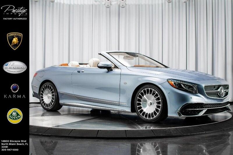 2017_Mercedes-Benz_S-Class_Maybach AMG S650 Cabriolet_ North Miami Beach FL