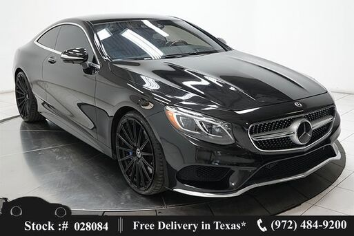 2017_Mercedes-Benz_S-Class_S 550 Coupe AMG SPORT,NAV,CAM,PANO,CLMT STS,22IN W_ Plano TX