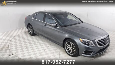 2017 Mercedes-Benz S-Class S 550 PADDLE SHIFTER,BLIND SPOT,SEAT-MASSAGE,PANO ROOF/N Euless TX