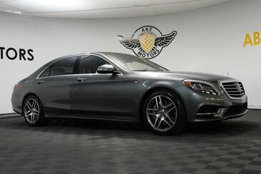 2017_Mercedes-Benz_S-Class_S 550 Sport AMG Rear Seat Package_ Houston TX