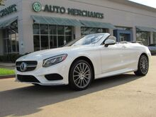 2017_Mercedes-Benz_S-Class_S550 Convertible NAV, HTD/COOLED STS, BLIND SPOT, LANE DEPART, COLD WEATHER PKG, BURMESTER, LOADED_ Plano TX