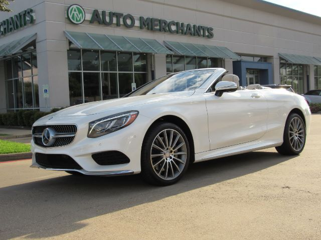 2017 Mercedes Benz S Cl S550 Convertible Nav Htd Cooled Sts