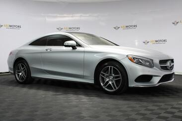 2017_Mercedes-Benz_S-Class_S550 Coupe, AMG Wheels, Head-Up Display, Surround View Camera, Warmth & Comfort , Airscarf_ Houston TX