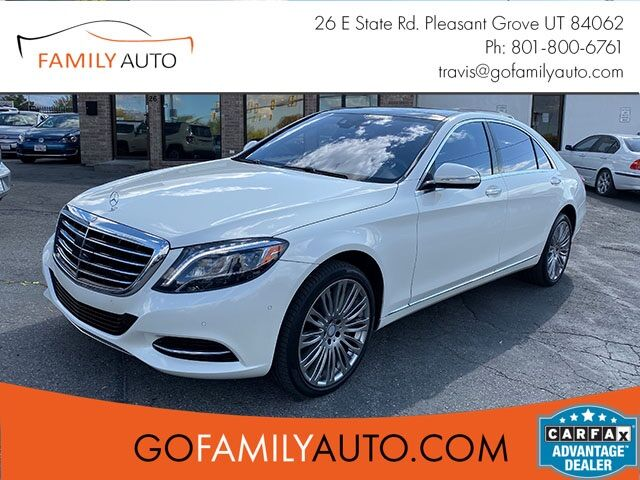 2017 Mercedes-Benz S-Class S550 Pleasant Grove UT