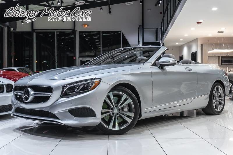 2017_Mercedes-Benz_S550_Cabriolet **MSRP $143k+**_ Chicago IL