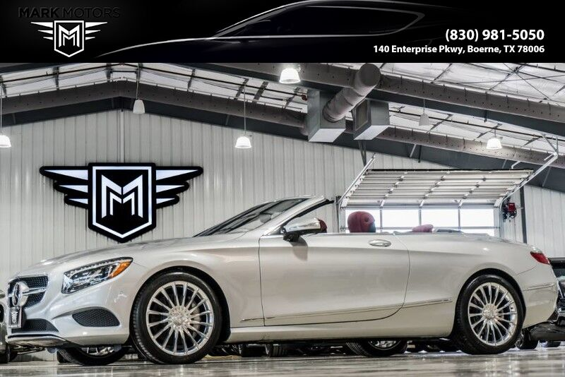 2017_Mercedes-Benz_S550_NAPPA LEATHER - DRIVER ASSISTANCE PACK - AMG S65 WHEELS ADDED - $142,390 MSRP_ Boerne TX
