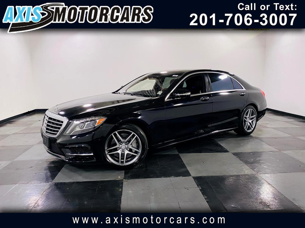 2017 Mercedes-Benz S550 w/ Burmester Sound Panoramic Roof  Navigation Back