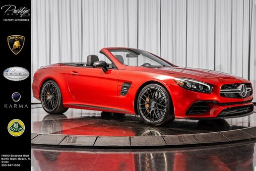 2017 Mercedes-Benz SL AMG SL 63 North Miami Beach FL