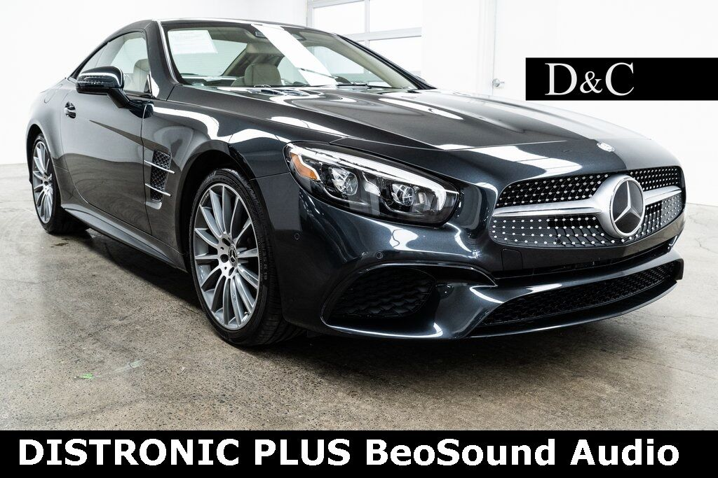 2017 Mercedes-Benz SL-Class SL 450 DISTRONIC PLUS BeoSound Audio Portland OR