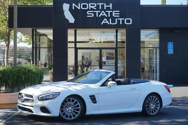 2017_Mercedes-Benz_SL_SL 450_ Walnut Creek CA