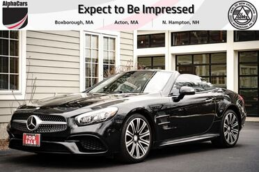 2017_Mercedes-Benz_SL450_Roadster_ Boxborough MA