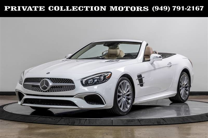2017_Mercedes-Benz_SL450_SL 450 SL-Class 1 Owner Clean Carfax_ Costa Mesa CA