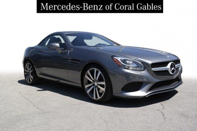2017 Mercedes-Benz SLC 300 Roadster Coral Gables FL
