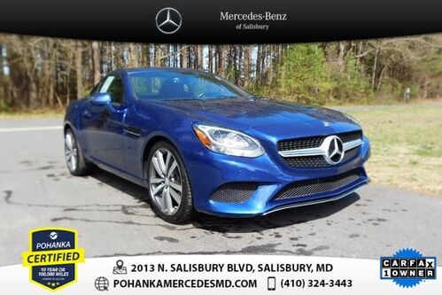 2017_Mercedes-Benz_SLC_SLC 300 ** 10 YEAR / UP TO 100,000 POWERTRAIN WARRANTY **_ Salisbury MD