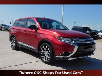 2017_Mitsubishi_Outlander_ES_ Oklahoma City OK