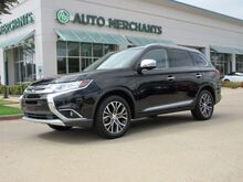 2017_Mitsubishi_Outlander_SEL 2WD SUNROOF, HTD SEATS, BACKUP CAM, BLUETOOTH, LEATHER, BLIND SPOT, 3RD ROW SEATS, PUSH BUTTON_ Plano TX