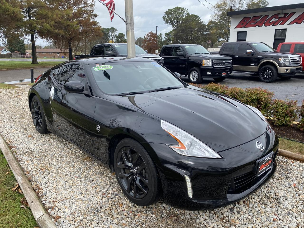 2017 NISSAN 370Z COUPE, WARRANTY, MANUAL, AUX/USB PORT, PARKING SENSORS, A/C, ONLY 10K MILES, CLEAN CARFAX! Norfolk VA