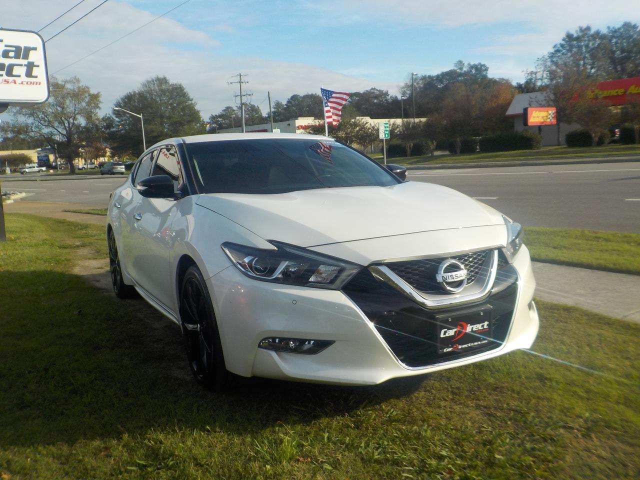 2017 NISSAN MAXIMA SR MIDNIGHT EDITION, NAVIGATION, BLUETOOTH, KEYLESS START, BOSE PREMIUM SOUND, ONLY 22K MILES! Virginia Beach VA