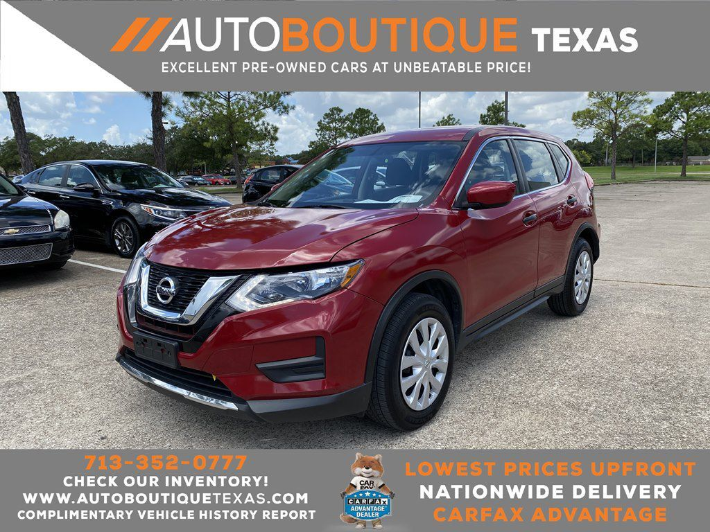 2017 NISSAN ROGUE S S Houston TX