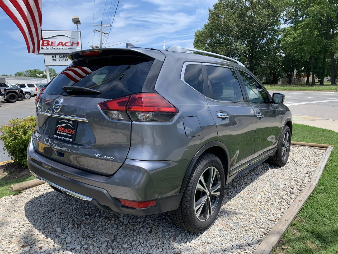 2017 NISSAN ROGUE SL, WARRANTY, LEATHER, NAV, HEATED FRONT SEATS, BLUETOOTH, BACKUP CAM, 1 OWNER! Norfolk VA