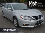 2017 Nissan Altima 2.5 S, Bluetooth, Traction Control, Low KM's, Warranty Remaining, No Accidents