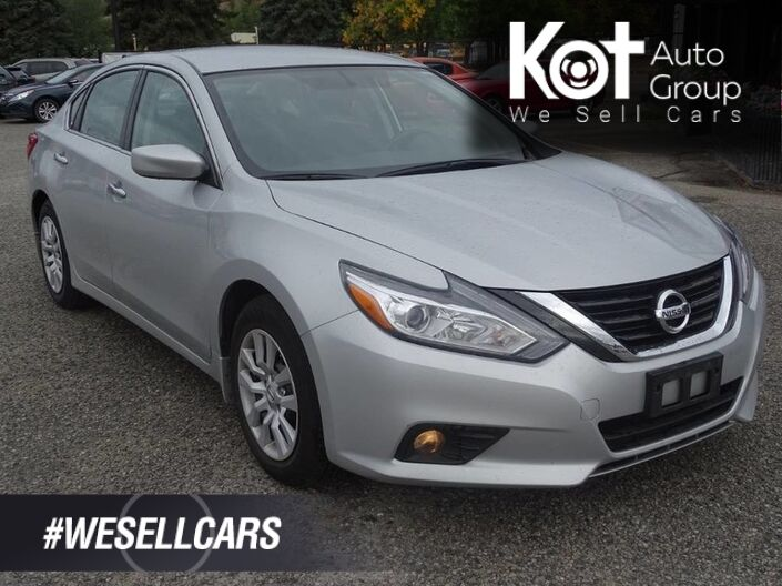 2017 Nissan Altima 2.5 S, Bluetooth, Traction Control, Low KM's, Warranty Remaining, No Accidents Penticton BC
