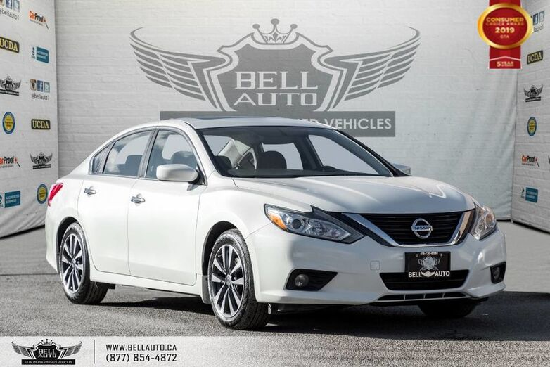 2017 Nissan Altima 2.5 SV, NO ACCIDENT, NAVI, REAR CAM, SUNROOF, B.SPOT Toronto ON
