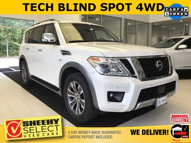 2017 Nissan Armada SL TECH BLIND SPOT 2ND ROW BENCH SEAT Annapolis MD