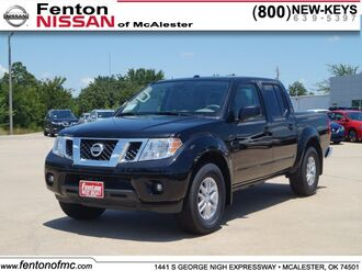 2017_Nissan_Frontier_SV_ McAlester OK