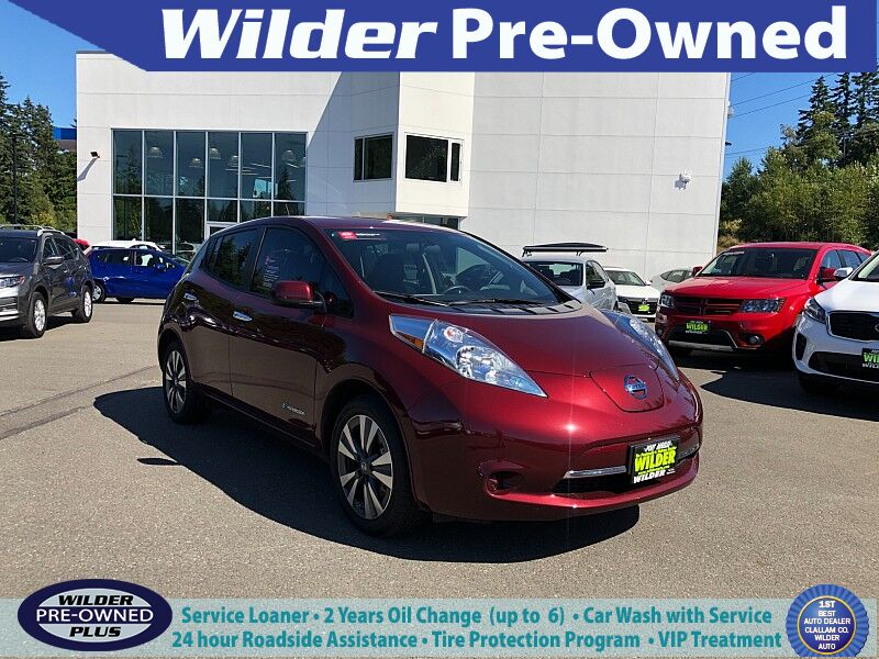 2017 Nissan Leaf 4d Hatchback SV Port Angeles WA