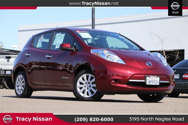 2017 Nissan Leaf S Tracy CA